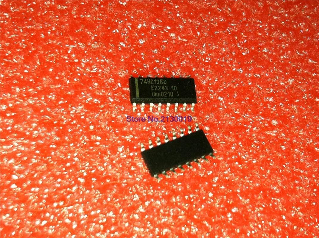 10pcs/lot SN74HC138DR ICN74HC138 74HC138D 74HC138 SOP-16 In Stock