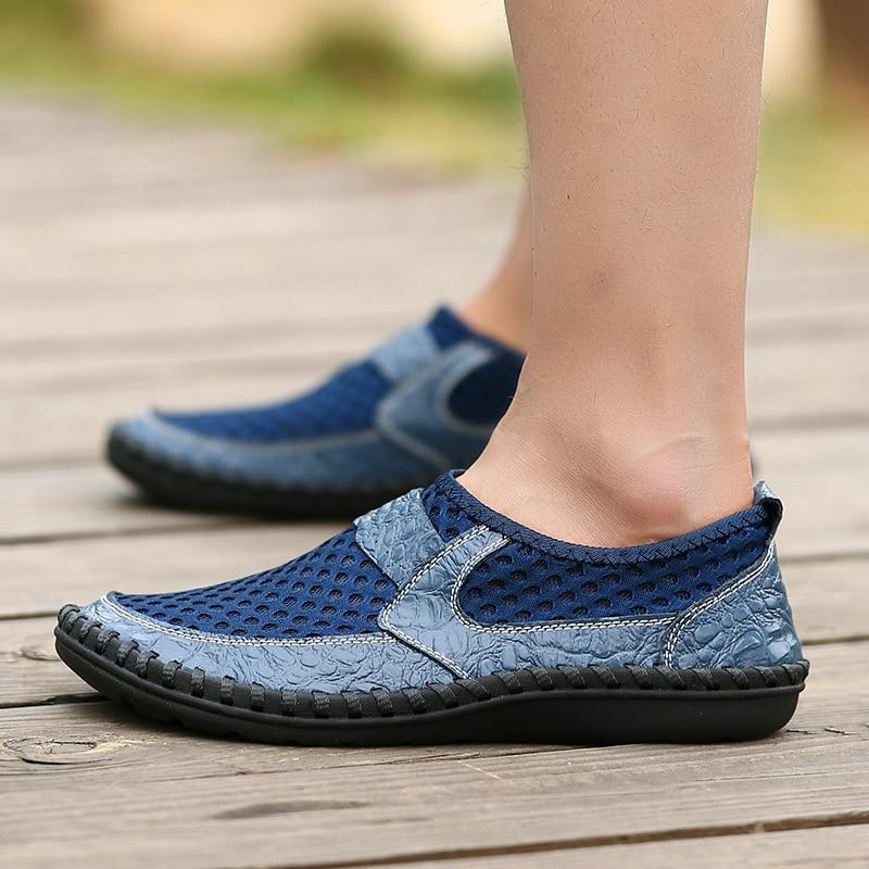 Water Sneakers Men Non Slip Hiking Climbing Aqua Shoes Beach Barefoot Upstream Shoes Seaside Footwear Male Outdoor Sport size48
