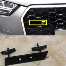 S3 S4 S5 S6 S7 S8 RS3 RS4 RS5 RS6 RS7 RS8 RSQ3 RSQ5 RSQ7 Honeycomb Grille Emblema Estilo Do Carro Logotipo Adesivos Para Audi TTRS Crachá