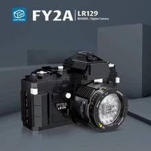 627 pçs cidade criativa fy2a lr129 câmera digital bloco de construção criador moc modelo diy tijolos brinquedos educativos presentes natal