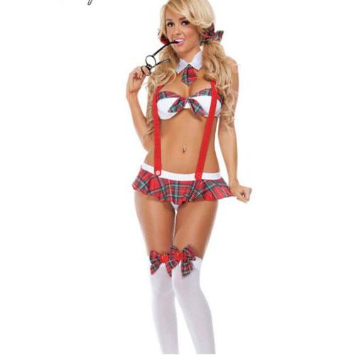 H99f3c472bce74540b0876deef216b676C Nueva moda Cosplay disfraces mujer chica disfraz lencería Sexy uniforme de sofisticado disfraz de Halloween vestido