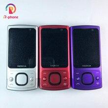 뜨거운 판매 전화 원래 노키아 6700 은신처 휴대 전화 3G GSM 잠금 해제 6700s 전화 블루 & 영어 키보드
