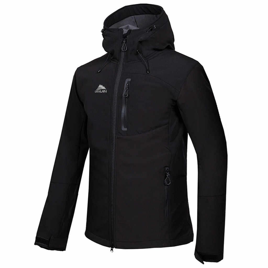 Męskie kurtki outdoorowe Softshell wiosna jesień Outdoor turystyka wspinaczka Camping Trekking wiatrówki szybkoschnące męskie płaszcze