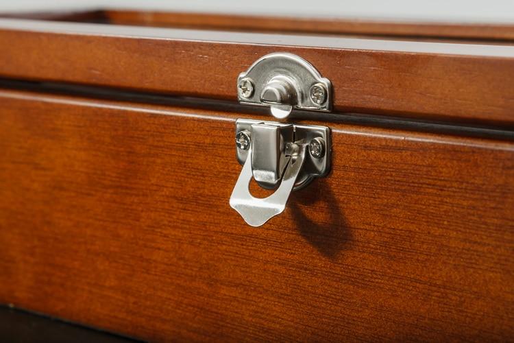 Caixa de relógio de madeira caixa de