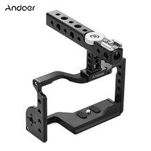 Andoer กล้องวิดีโอชุดชุด TOP Handle อลูมิเนียมอัลลอยด์กล้องวงเล็บขยายด้ายรองเท้าเย็นสำหรับ Sony A6600 ILDC กล้อง