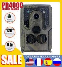 Pr400c caça wildlife trail câmera 12mp 1080p pir câmera de caça infravermelha com visão noturna vigilância sem fio rastreamento cam