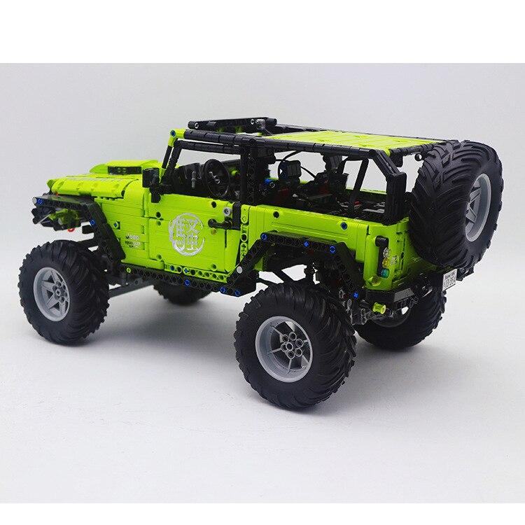 Compatible Legoinglys Technic 2343PCS Wrangler Car SUV Super Sports Assembly Car MOC Building Block Bricks Toy For Kids Gifts