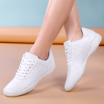 Women's Competitive Aerobics Shoes, Fitness Shoes, Parent-child Shoes, Children's Sports Shoes, Soft-soled Dancing Shoes new style competitive aerobics shoes skills cheerleading shoes group gym shoes competition shoes national fitness shoes