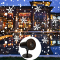 Светодиодный светильник для сцены  лазерный проектор  водонепроницаемая Снежинка  небесная лампочка «Звезда»  домашний пейзаж  Декор  рожд...