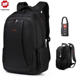 Tigernu Splashproof Nylon Backpack Female Men's Backpacks for 15.6 Laptop Women Notebook Bag Mochila Leisure school backpack US