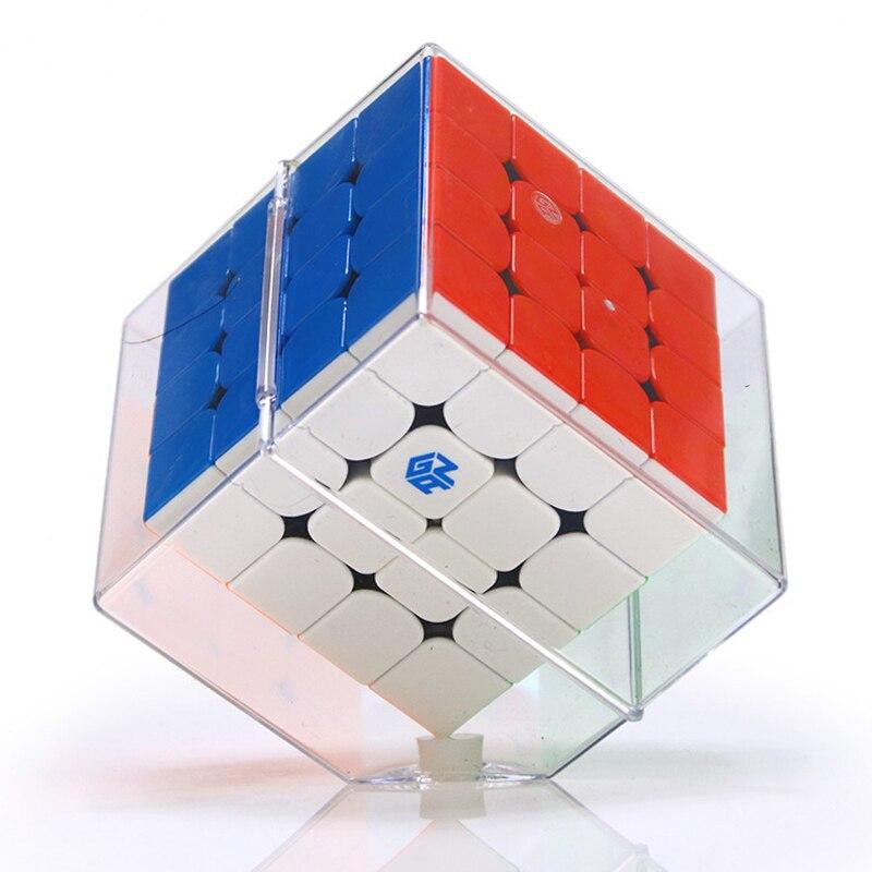 GAN460M concours professionnel 4x4x4 Cube magique magnétique vitesse Twisty Puzzle 4x4 Cube jouets éducatifs cadeau cubo magico 60mm