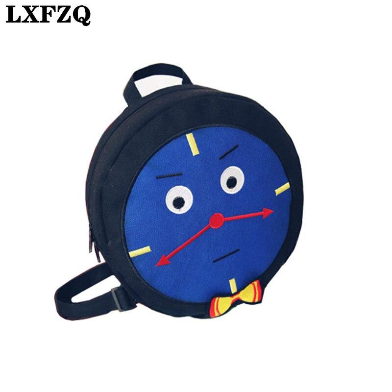 LXFZQ kids children school bags mochilas escolares infantis children's backpacks Orthopedic backpack for children school bag