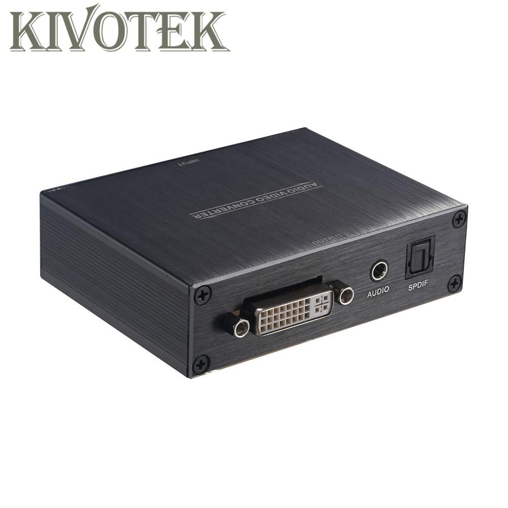 Convertisseur adaptateur HDMI vers DVI + Audio + Spdif 1080 P, connecteur HDMI2DVI alimentation ue/US/UK pour lecteur DVD HDTV PS3 livraison gratuite