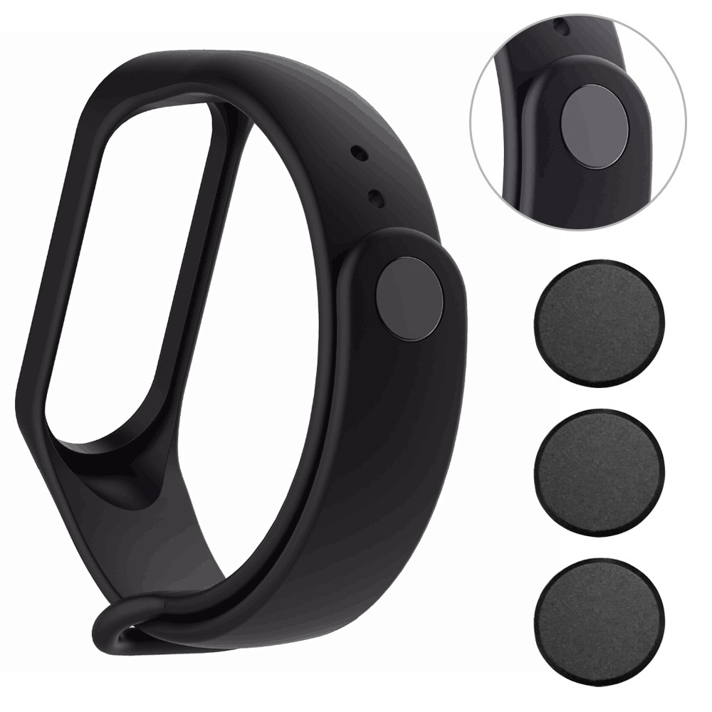 3pcs Mi Band 3 Buckle Band 4 Button Replacement For Xiaomi Mi Band 3 4 Stylish High Quality For Xiaomi Mi Band 3 4
