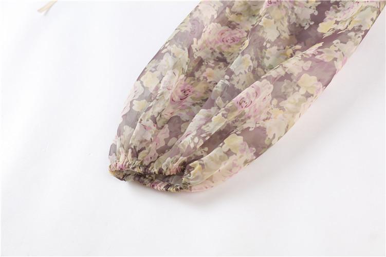 Lace Floral Blouse Self 8