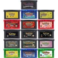 Картридж для игровой консоли 32 бит, карта для Nintendo GBA Pokeon Series Glazed Snakewood Flora, английский язык, первая версия