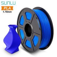 Sunlu 1.75mm pla filamento 1kg de alta qualidade pla para impressora 3d precisão +/- 0.02mm entrega rápida