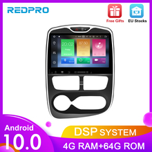 "10.1 ""Octa Core Android 9,0 Auto DVD Stereo player GPS Navi Multimedia Für Renault Clio 2016 2018 Auto radio WIFI Video Steuergerät"