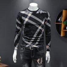 Мужская одежда на осень 2020 модный мужской топ с буквенным