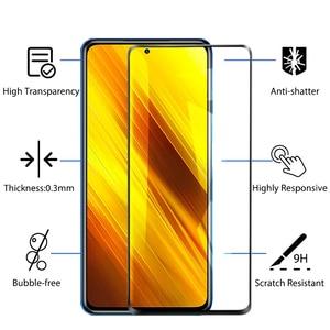 Image 5 - Poco X3 NFC カバー、保護ガラス + ケースでリング Xiaomi Poco X 3 Poco X3 Pro ケーススクリーンプロテクター Xiaomi Poco X3 ケース Poco X3 Case + Glass