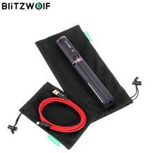 BlitzWolf BW ST1 ポータブルケーブルオーガナイザーヘッドホンストレージオーガナイザーバッグケーブルヘッドホン銀行 Selfie スティック収納袋