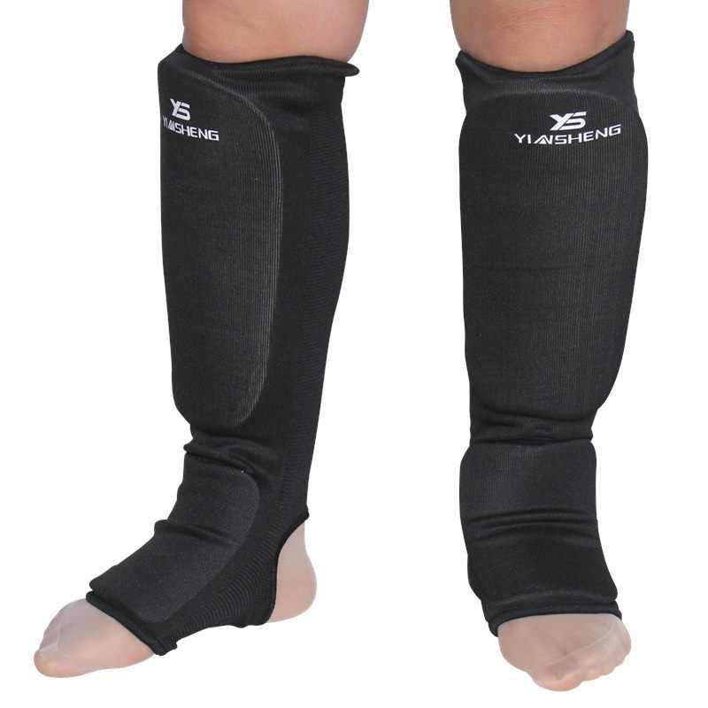 綿ボクシングすねガード MMA 甲プロテクター足保護 tkd キックボクシングパッドムエタイトレーニング脚サポートプロテクター