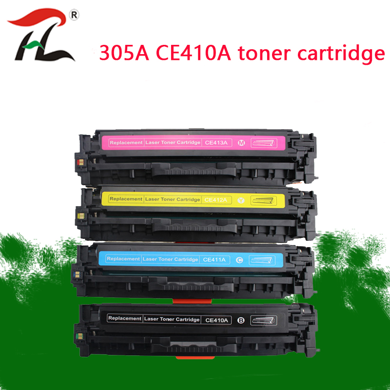 <font><b>305A</b></font> CE410 Compatible toner cartridge CE410A CE411A CE412A for <font><b>HP</b></font> laserJet Enterprise 300 color M351 M375nw 400 M451nw M451 image