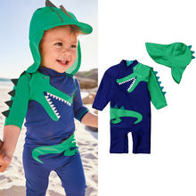 2pcs Toddler Baby Boy Sun Protective Swimwear Rash Guard Costume Bathing Suit US