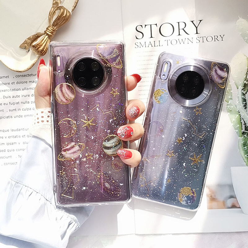 Case For Huawei Mate 30 Pro Mate30 Transparent Soft Silicone TPU Funda For Huawei Mate 30 Case Cover