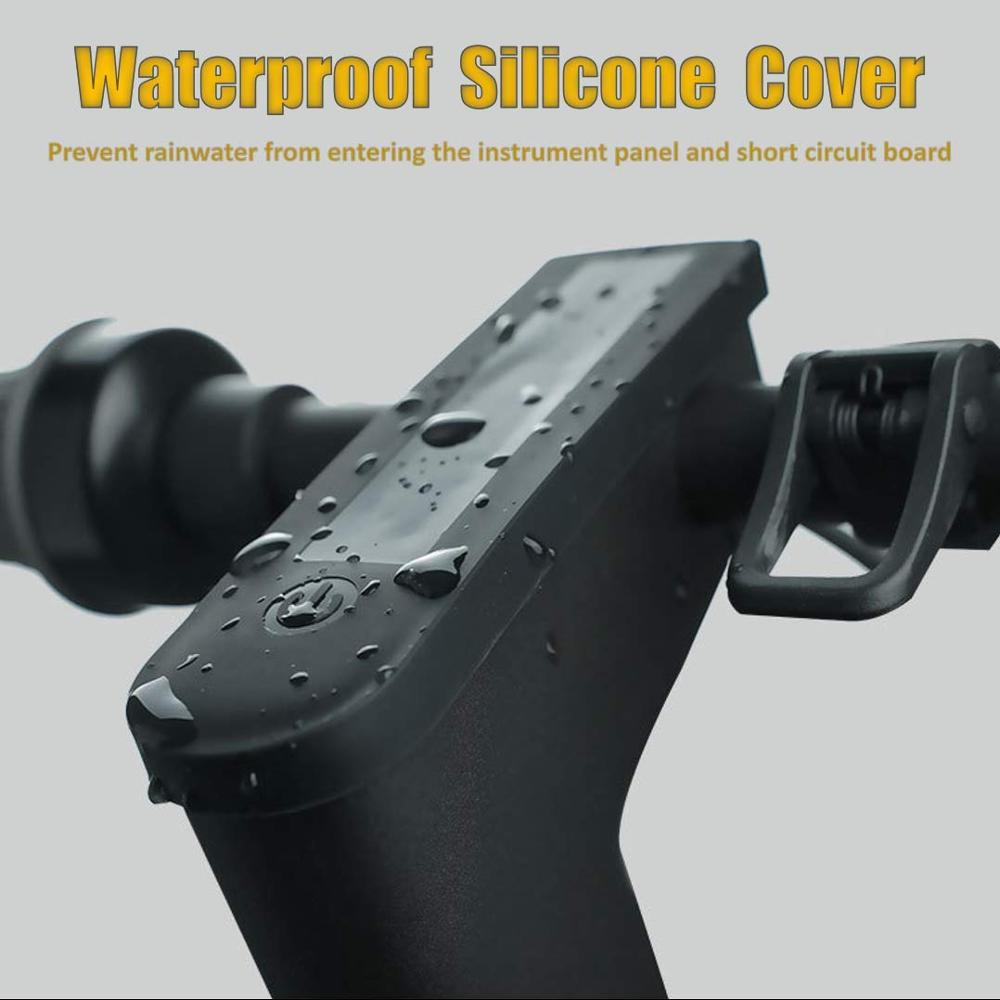 Anti-scratch Silicone Display Panel Cover For Ninebot MAX G30 Kickscooter Waterproof Protective Cover Adult Foldable Scooter