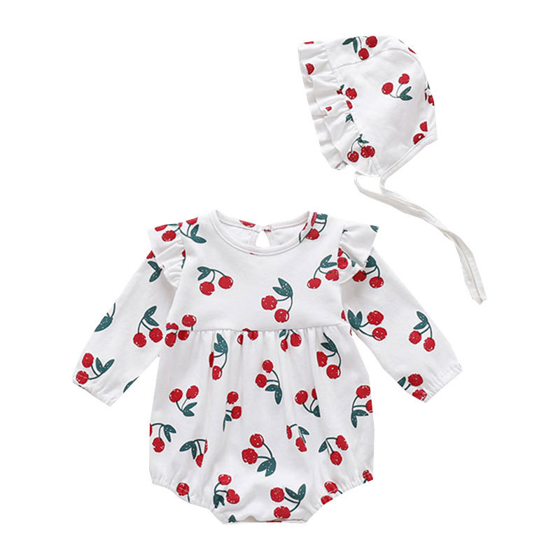 2 Pcs Baby Romper Bodysuit Baby Girl Clothes 2021 Summer Baby Romper Overalls And Jumpsuits Infants Fashion Cotton Clothing New