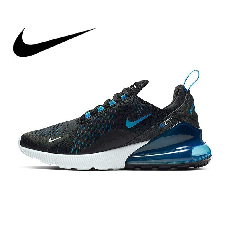 Original Authentic Nike Air Max 270 Man's Running Shoes Sneakers Breathable Sport Outdoor Footwear Designer 2018 New AH8050