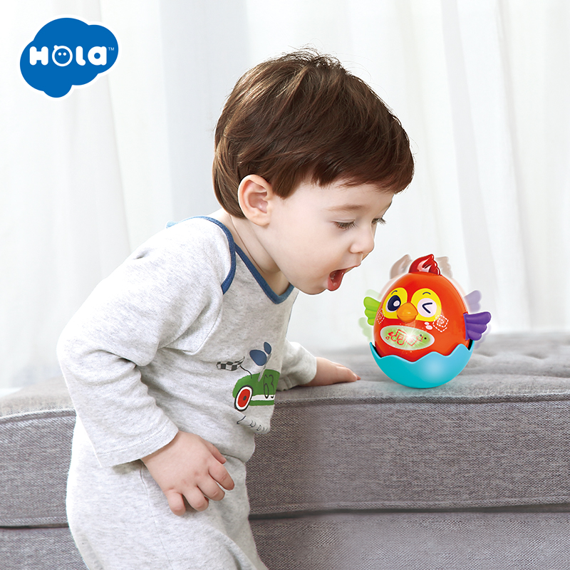 HOLA 3123 Baby Toy Plastic Sound Voice Control Bird Talking Singing Toy Educational Baby Toys 0-12 months image