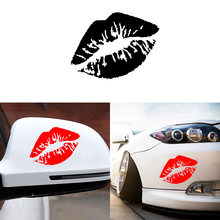Car-styling Sexy Lady Lip Print Car Sticker For Chevrolet Cruze Cruz Sports Styling Auto Racing Decoration Accessories(China)