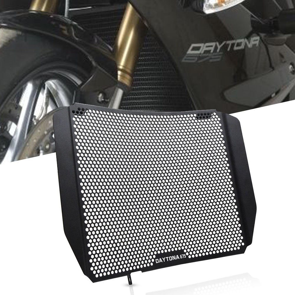 Motorcycles Radiator protective cover Guards Radiator Grille Cover Protecter For <font><b>Triumph</b></font> <font><b>Daytona</b></font> <font><b>675</b></font> 2006-2012 2007 <font><b>2008</b></font> 2009 image