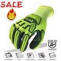 Защитные перчатки ANSI Level A5  защитные рабочие перчатки с защитой от порезов