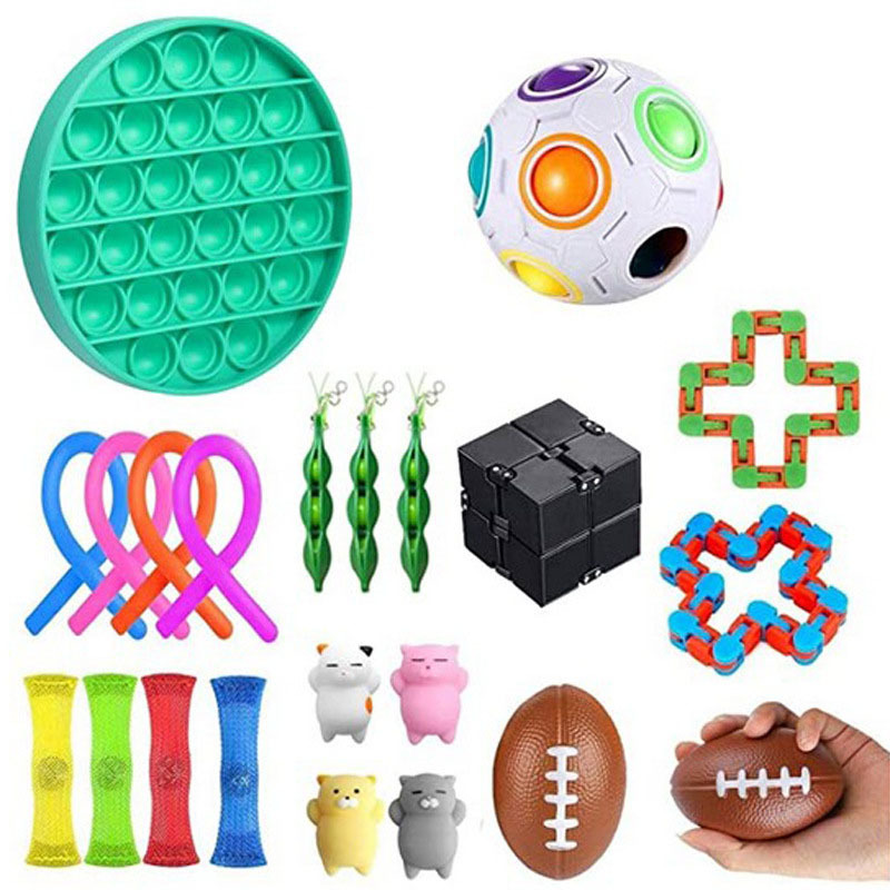 Fidget-Toys Autism Stress Kids Relief-Toy Sensory-Toy Gifts Funny Adult Anxiety