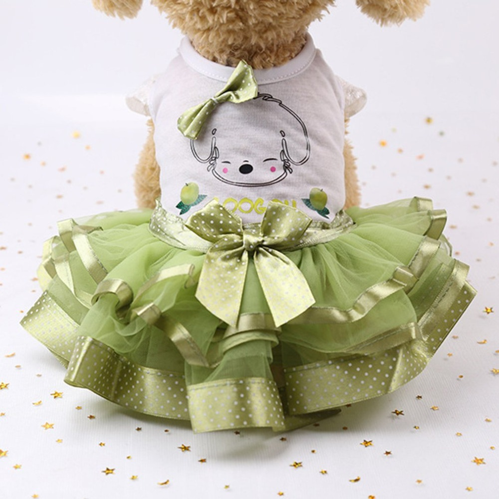 Fashion Cute <font><b>Dog</b></font> Wedding <font><b>Dress</b></font> Skirt Summer Luxury Princess Pet Clothes Fruit Design <font><b>Dog</b></font> <font><b>Harness</b></font> <font><b>Dress</b></font> Pet Clothes image