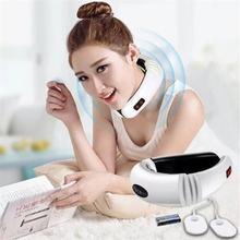 Электрический импульсный массажер для шеи инструмент лечения