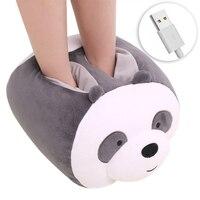 24 w usb almofada de aquecimento elétrico pés chinelos quentes inverno mão pé mais quente sofá cadeira aquecedor aquecimento almofada casa almofadas aquecidas|Aquecedores de mão| |  -