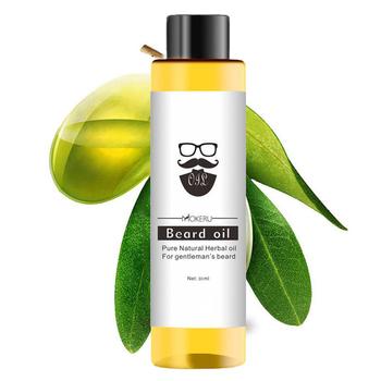 Mokeru 100 organiczny olej do brody utrata włosów produkty Spray broda wzrost olejek wzrost mężczyźni grubsza pielęgnacja brody olej 30ml TSLM1 tanie i dobre opinie 20161386 CN (pochodzenie) 1pcs Beard Crae Oil