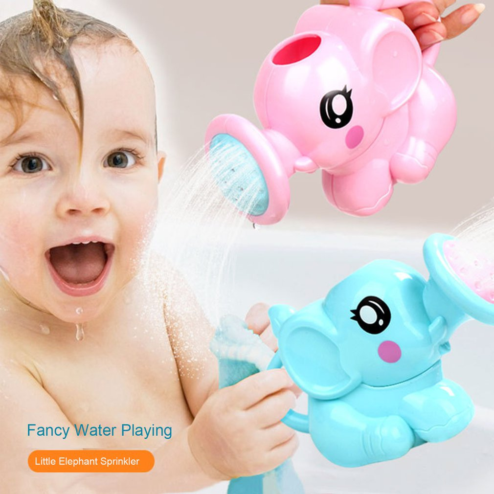 1 Set ABS Kids Bath Toy Water Beach Toys Plastic Watering Can Swimming Water Toys Sprinkler Kit For Children Shower Game Gifts