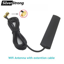 SMA Extention-Cable Wifi-Antenna Car-Radio Android Connector Universal Male with