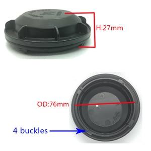 Image 5 - 1 pc dla Chevrolet trax osłona przeciwpyłowa LED lampa ksenonowa hid wysokość osłona przeciwpyłowa reflektor tylna pokrywa trzonek poszerzona tylna pokrywa