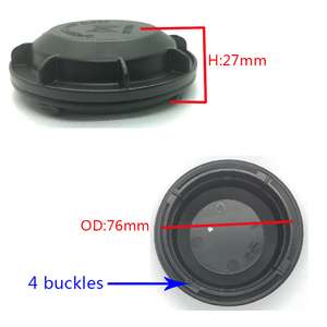 Image 5 - 1 pc for Chevrolet trax Dust cover LED hid Xenon lamp Heighten dust cap headlight rear cover lamp cap Widened back cover