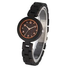 Quartz Wooden Watch Convenient Folding Safety Clasp Wooden Watches