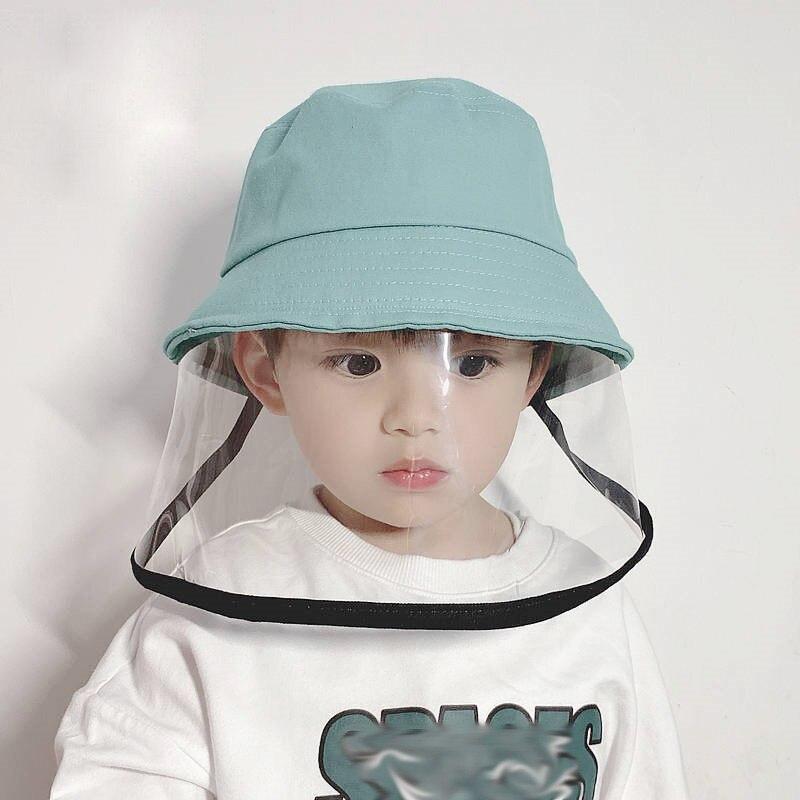 Gorros de bebé, gorro protector antiderrames para el aire libre para niños, tapa protectora antipolvo para evitar la Saliva para niños, gorros de lavabo