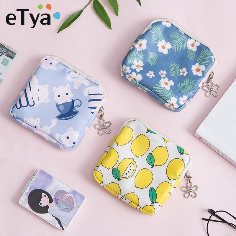 Cute Canvas Women Cactus Coin Purse Wallet Earphone Container Card Key Bag