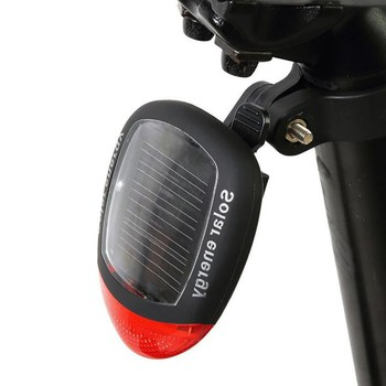 Światła rowerowe rower led światła słonecznego zasilany LED tylne migające światło tylne do rowerów lampa rowerowa bezpieczeństwa 2LED akcesoria rowerowe tanie i dobre opinie NONE CN (pochodzenie) Bicycle Light#0330 Sztyc rowerowa Baterii Bike accessories Bicycle accessories Lantern Light bicycle