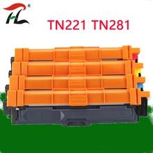 Uyumlu toner kartuşu için toner kartuşu TN221 TN241 TN 241 TN251 TN281 TN291 TN225 TN245 HL 3140CW 3150CDW 3170 9140CDN yazıcı